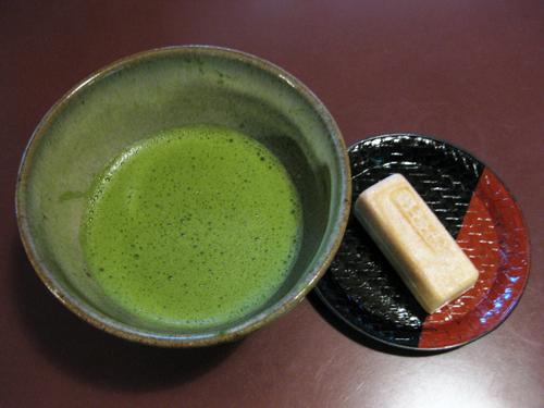 kyoto-dessert macha and tea sweet