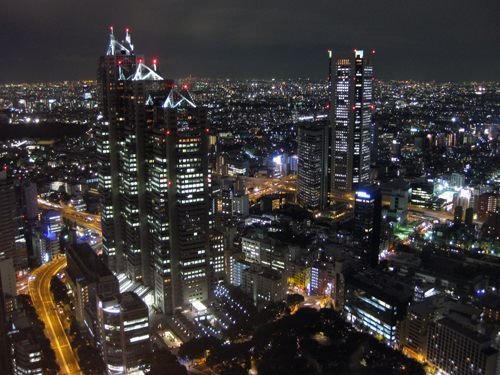 tokyo-night view