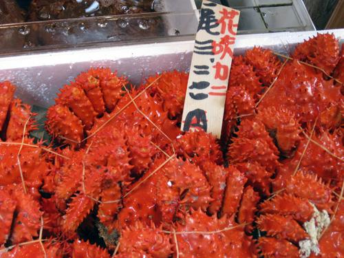 tokyo-tsukiji crabs