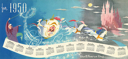 disney christmas card-1950