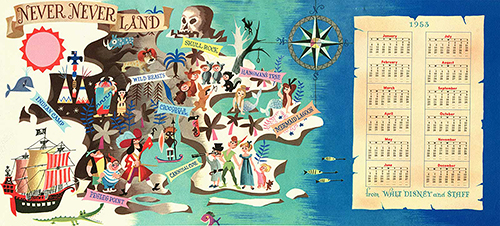 disney christmas card-1953