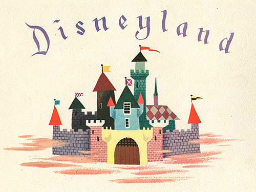 disney christmas card-1955