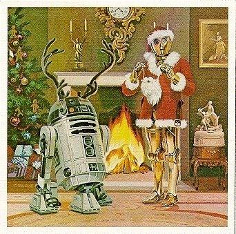 star wars xmas card 1979