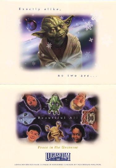 star wars xmas card 2002