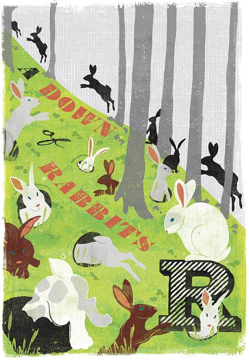 woop studios-down of rabbits
