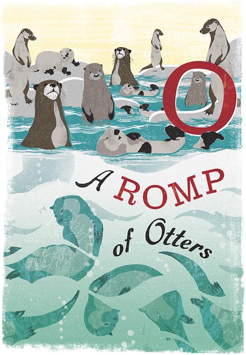 woop studios-romp of otters