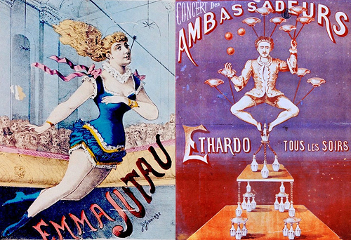 circus poster emma jutau