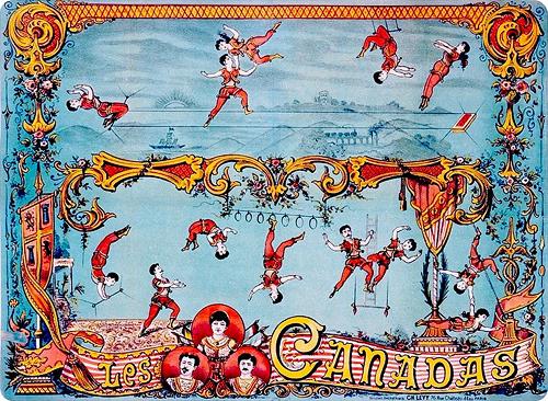 circus poster les canadas
