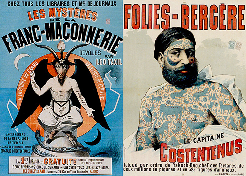 Le Cirque Vintage French Circus Posters