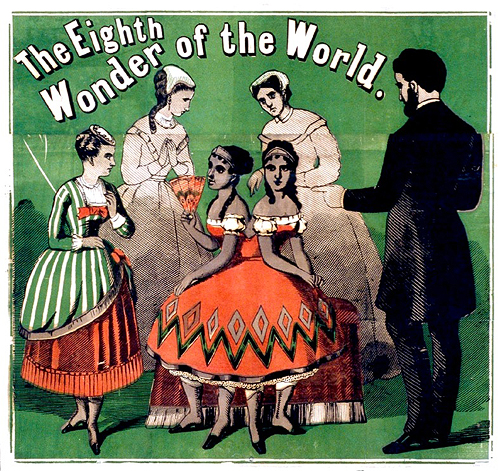 circus poster the eighth wonder of the world