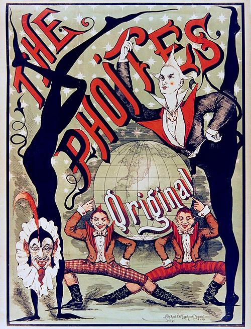 circus poster the original phoites