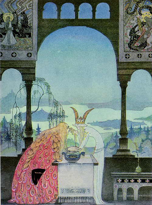 kay nielsen-east of the sun and west of the moon2
