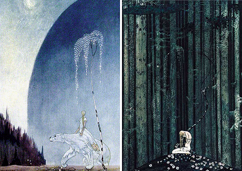 kay nielsen-east of the sun and west of the moon3