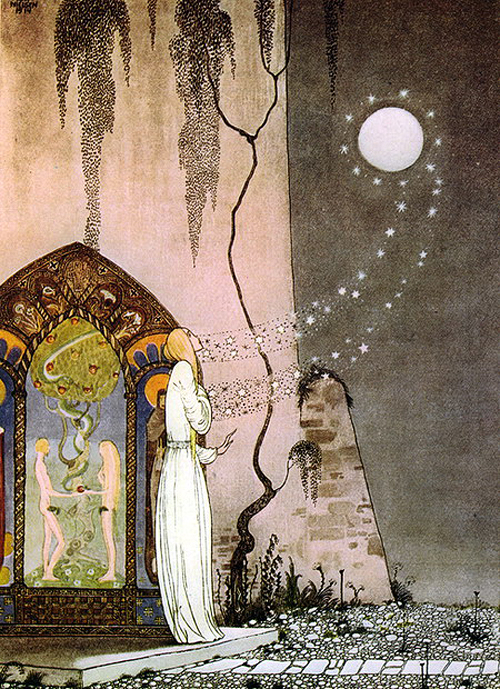 kay nielsen-east of the sun and west of the moon5