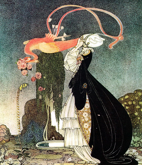 kay nielsen-rosani or the inconstant prince