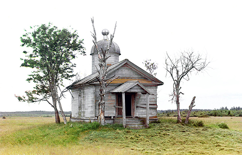 sergei mikhailovich prokudin-gorskii-belozersk chapel-1909