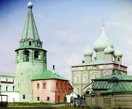 sergei mikhailovich prokudin-gorskii-cathedral of the nativity of the virgin-1912