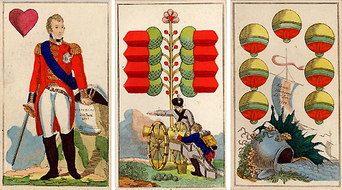 victory deck-friedrich gotthelf baumgärtner 1815