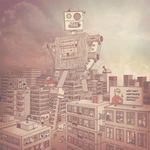 johan thornqvist-robot