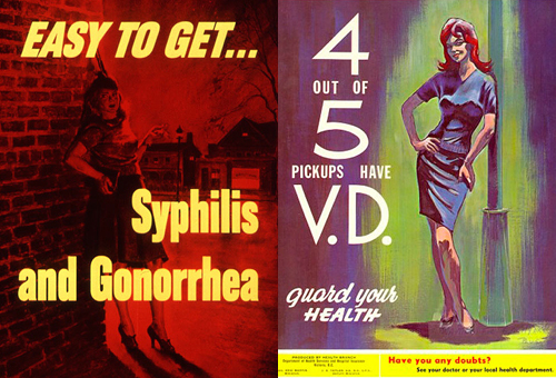 std poster-scary women