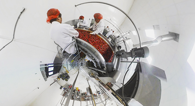 new york times 360: sriracha factory