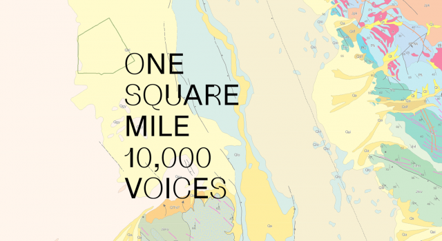 one square mile, 10,000 voices
